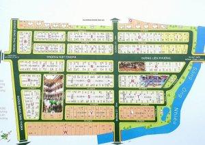 Bán đất sở văn hóa Thông Tin Q.9 ngay góc Liên Phường -Bưng Ông Thoàn giá 46.5tr/m2