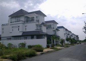 Cho Thuê Biệt Thự Song lập KDC Khang An Q9 dt: 8x20 giá 20 triệu - 0909128189