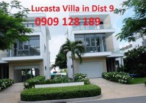 Bán căn biệt thự  song lập Lucasta dt: 10x17,5 trục đường 20m giá 13 tỷ - 0909128189