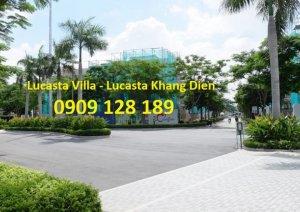 Bán căn góc biệt Thự Lucasta dt: 11x19 giá 10.5 tỷ - 0909128189