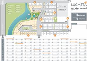 Cần tiền bán gấp căn E Lucasta,dt 10x23,hướng Bắc,sổ hồng 2016,giá 9tỷ,bao VAT,lh 0949766228 Mr Hải