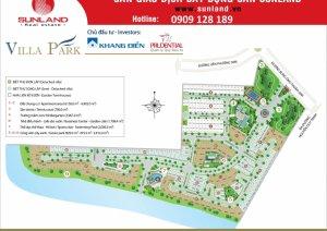 Bán biệt thự Villa park Q.9 dt: 8x17 hướng Bắc đã có sổ - 0909128189
