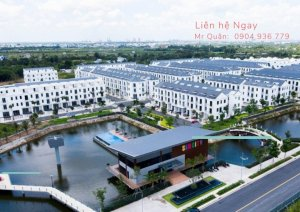 Bán nhà phố dự án Sim city Quận 9. view hồ, công viên, LH: 0904936779