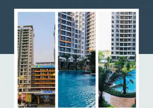 Cho thuê CH Safira Khang Điền- 2PN căn góc -LH 0911 755 253