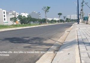 Đất nền dự án Khang Phúc khu dân cư Phong Phú Bình Chánh, từ 27tr/m2