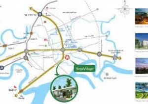 Nhà phố căn góc Mega Village Khang Điền giá 3.1 tỷ LH 0909003611