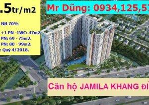*JAMILA – Căn hộ CĐT KHANG ĐIỀN đang gây sốt ngay cạnh LAKE VIEW*, chỉ với 22.5tr/m2, CK 2,5%, NH 70%, LH ngay 0934,125,573 để được tư vấn chi tiết