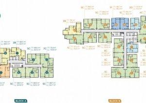 Cần bán căn hộ D'lusso, view logia nhìn sông Giồng, 68.5m2.