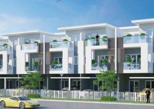 Cần bán căn nhà phố Melosa Khang Điền,DT 5*16,Hướng Nam,Gía 3.5ty.LH Mr Tăng:  090 68 49 239
