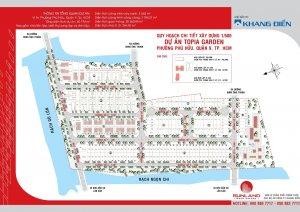 đất nền dự án Topia, nhà phố, Hướng: ĐN, giá 12.4tr..LH 0919009038 Mr.Quang