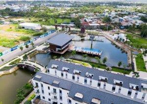 Bán nhà phố KDC Simcity Q,9 dt: 5x16 trệt 3 lầu giá 4.350 tỷ - 0909128189