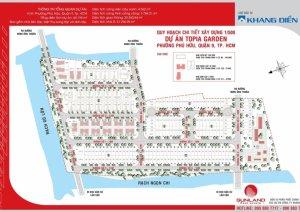 Đất dự án Topia, lô nhà phố, giá 54 tr/m2  0919009038 Quang
